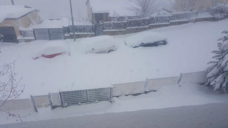 La nieve llega a MCY