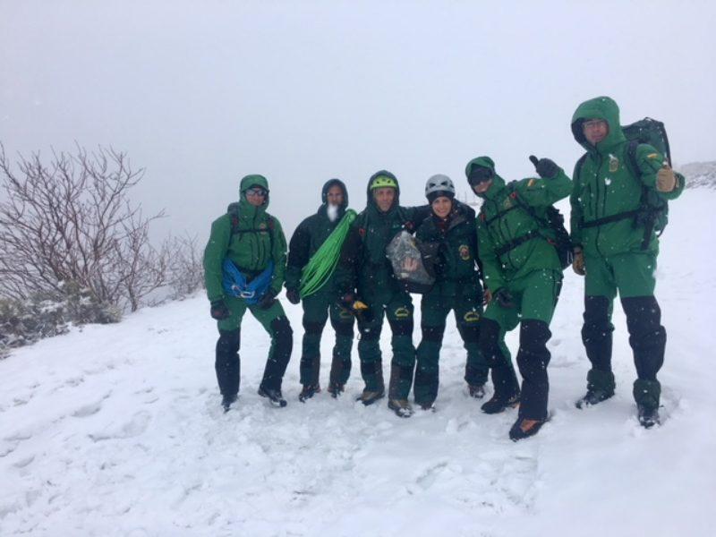MCY- 112 Rescate en la montaña