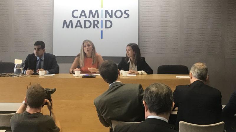 India en el Colegio de Ingenieros de Caminos, Canales y Puertos de Madrid